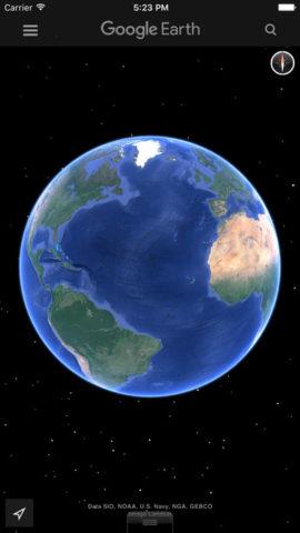 google earth ios 1