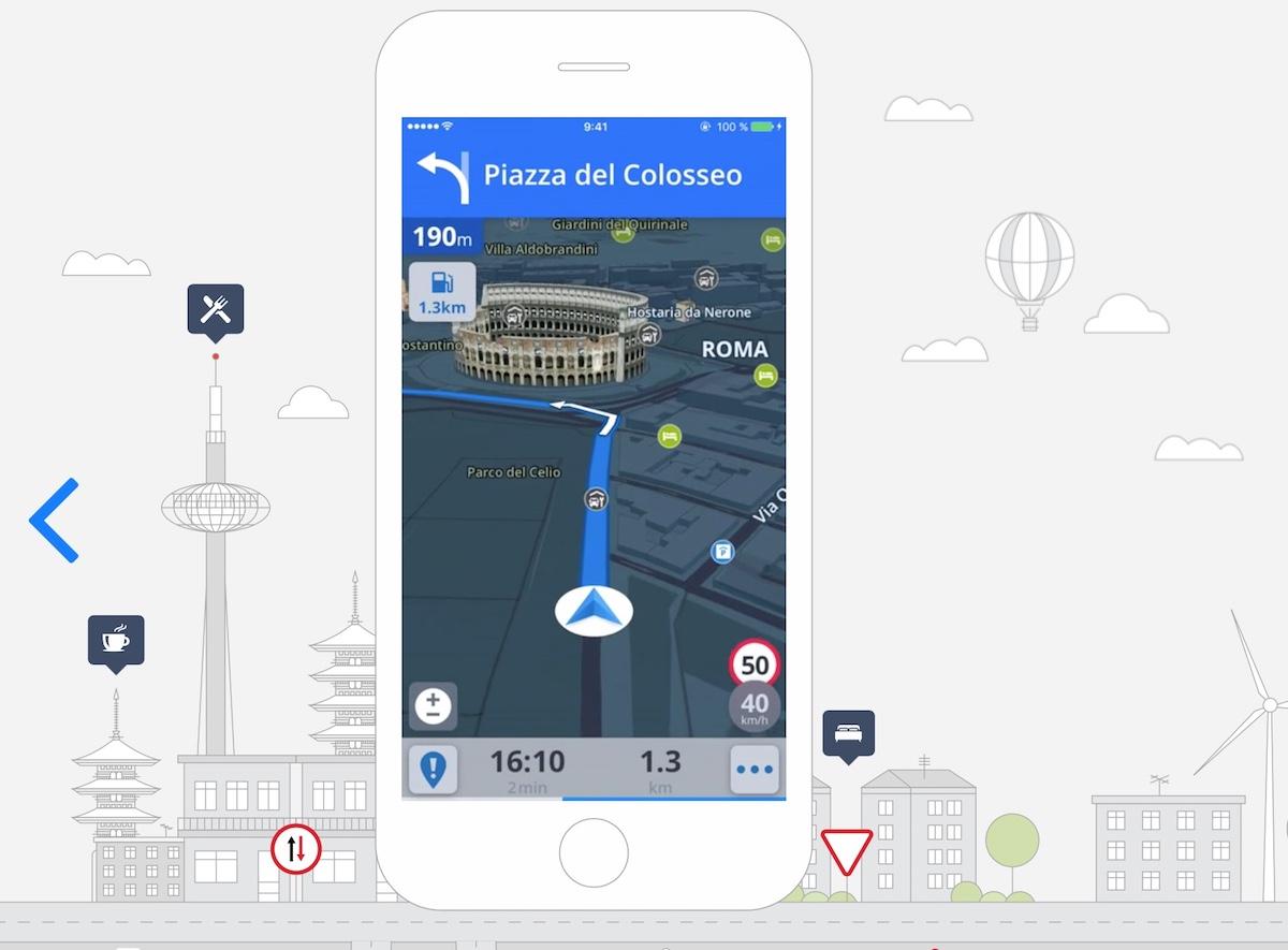 navigatore satellitare gratis per iphone