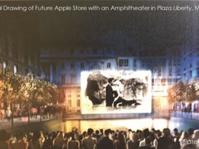 nuovo sistema audio apple piazza liberty