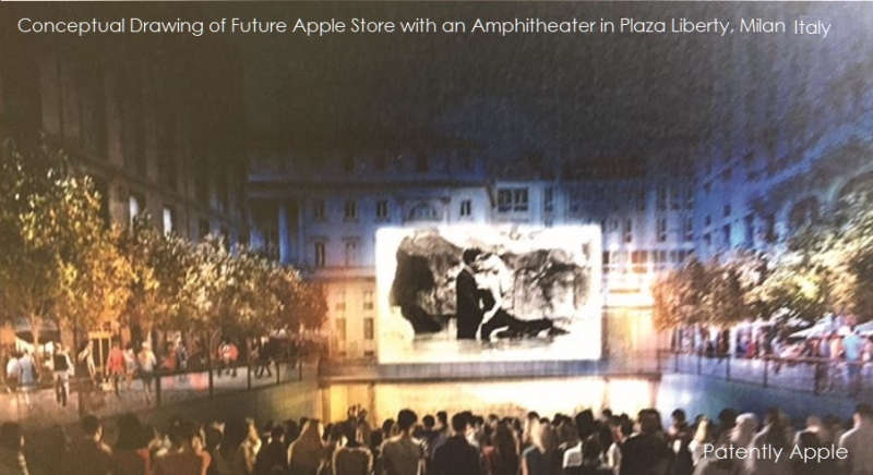 nuovo sistema audio apple piazza liberty
