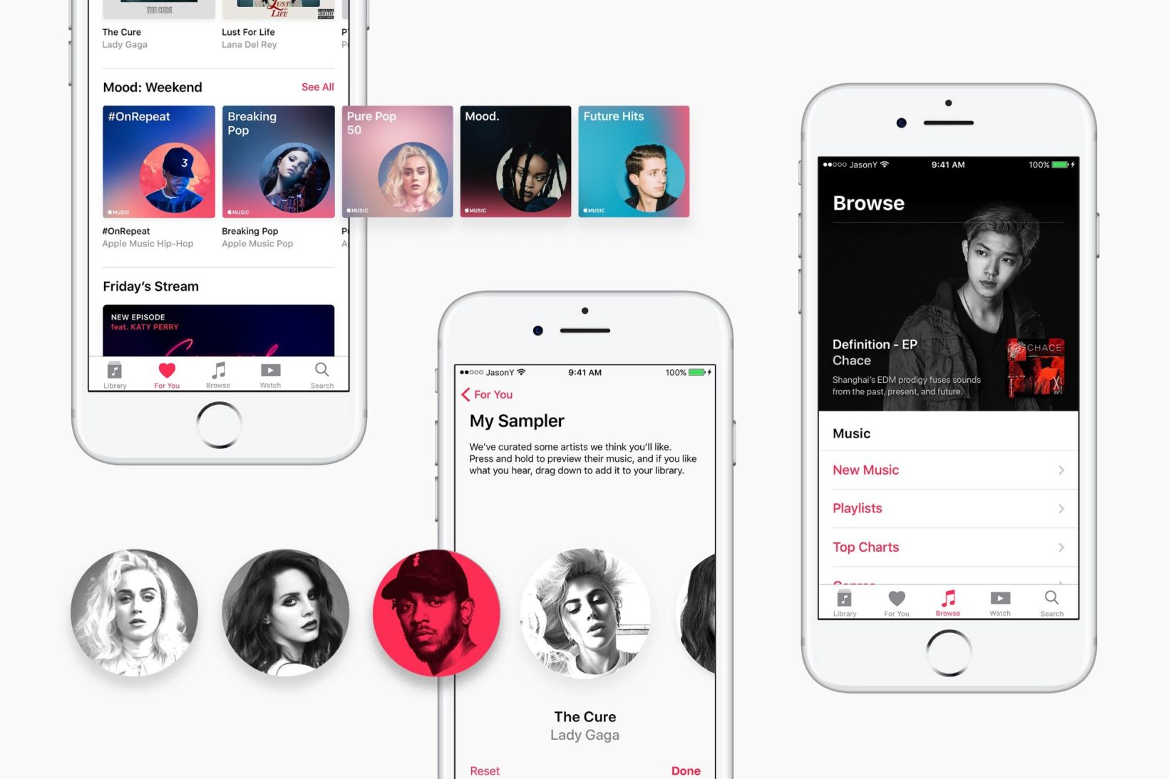 Designer scartato da Apple, ridisegna Apple Music %name TechNinja