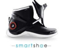 Smartshoe, le scarpe intelligenti si allacciano da sole e scaldano i piedi
