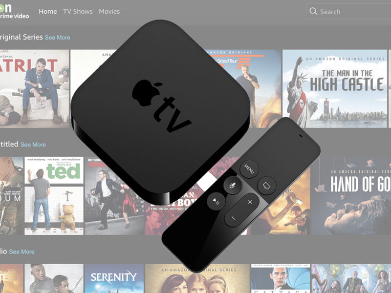 how to get amazon prime on apple tv