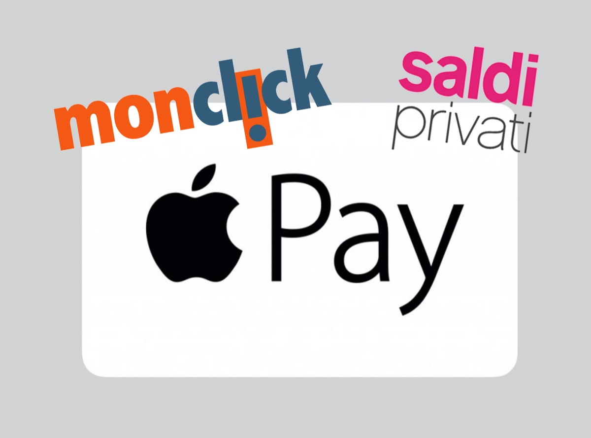 Apple Pay SaldiPrivati Monclick