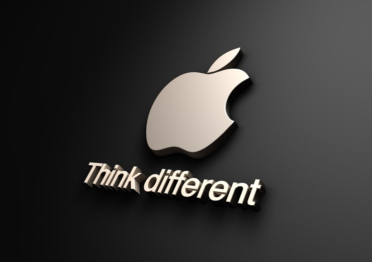 Apple-logo think different