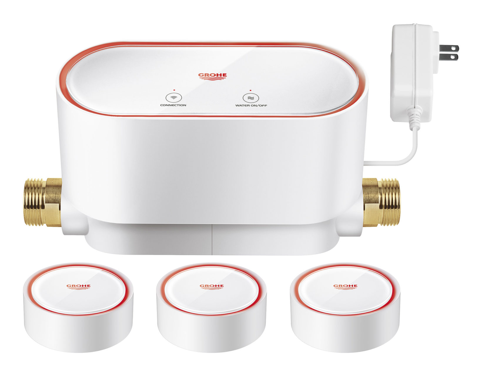 grohe sense il sensore smart per l acqua a portata di mano. Black Bedroom Furniture Sets. Home Design Ideas