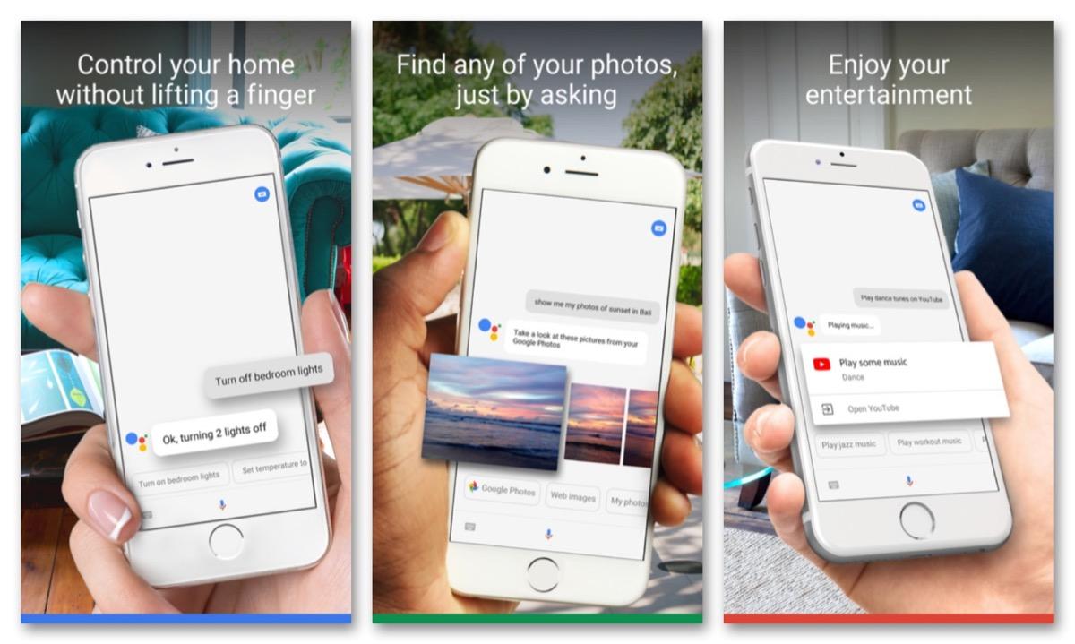 Google Assistant iPhone