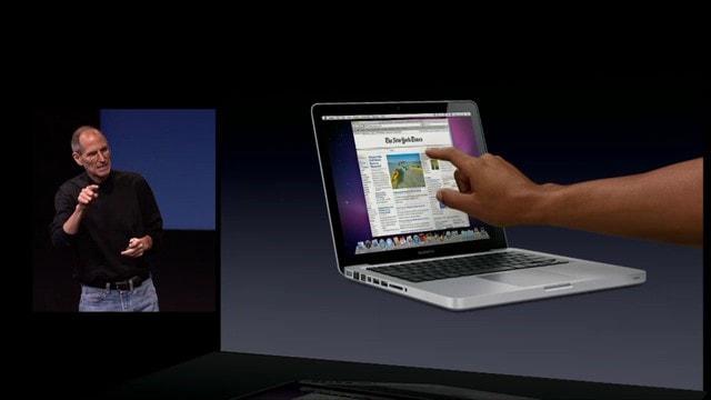 macOS ora in grado di gestire schermi touchscreen