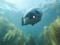 BIKI, ecco il pesce robot che registra a 4K