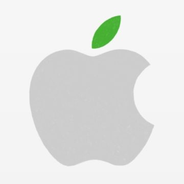 apple logo green 740