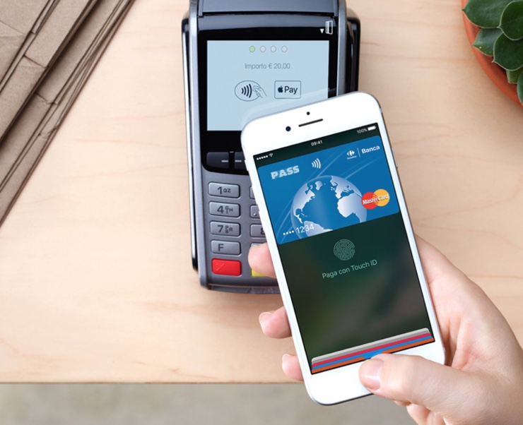 apple pay ita 1 740