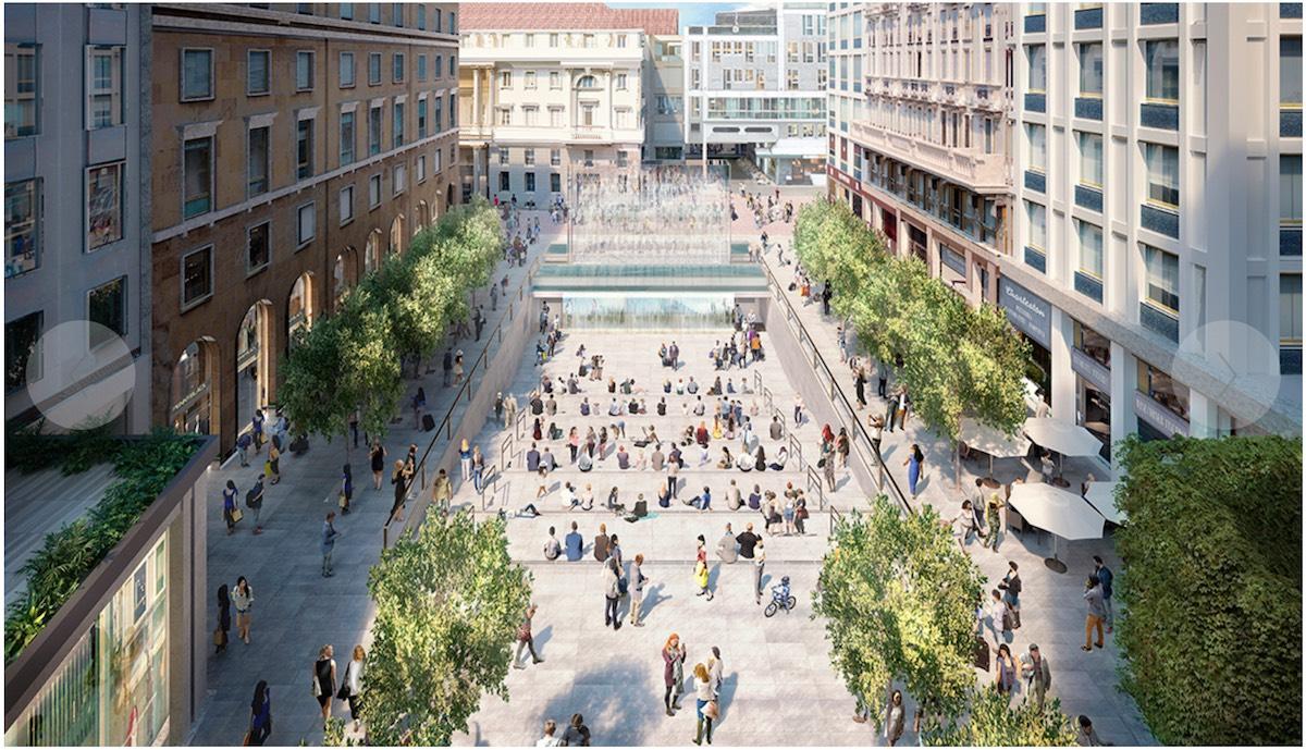 Apple piazza liberty a milano il primo flagship store d for Garden designer milano