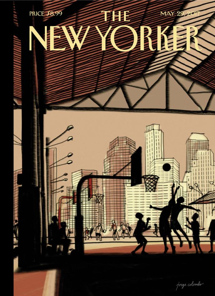 copertina New Yorker ipad pro