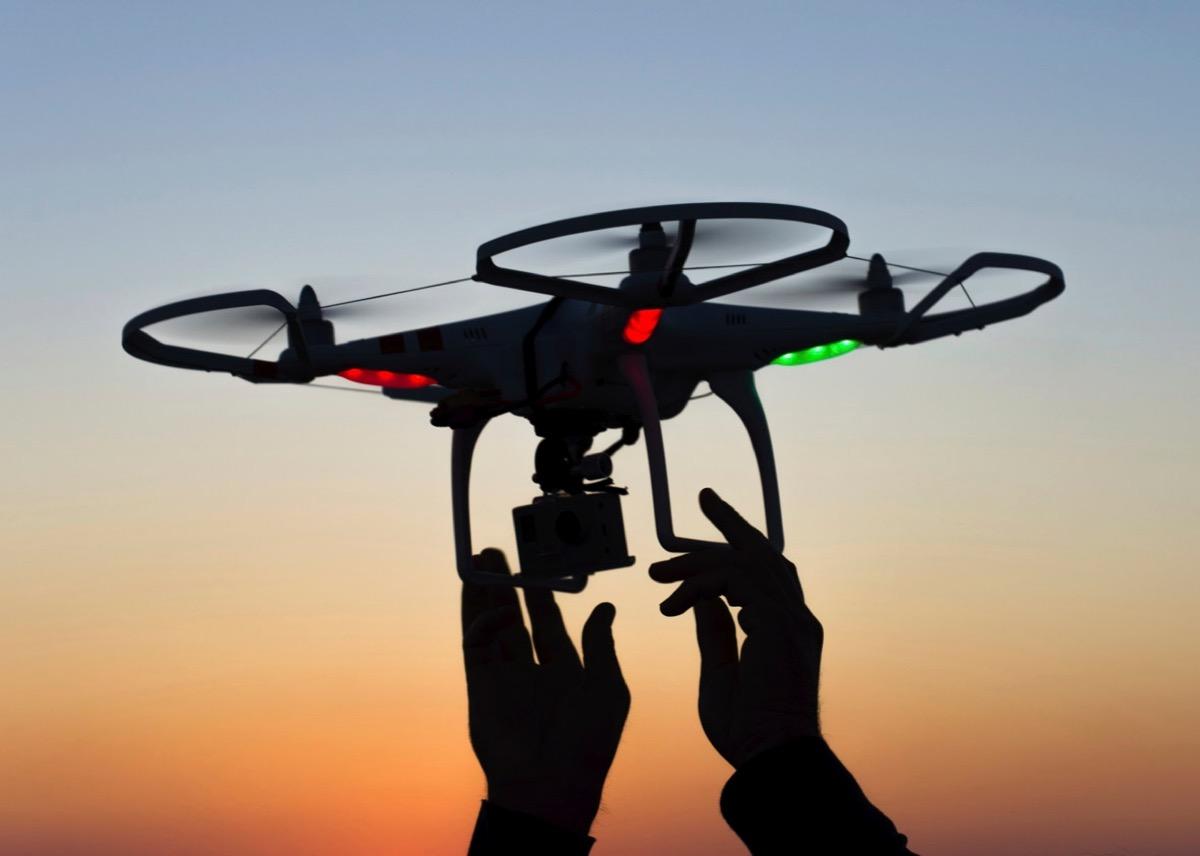drone impianti petroliferi