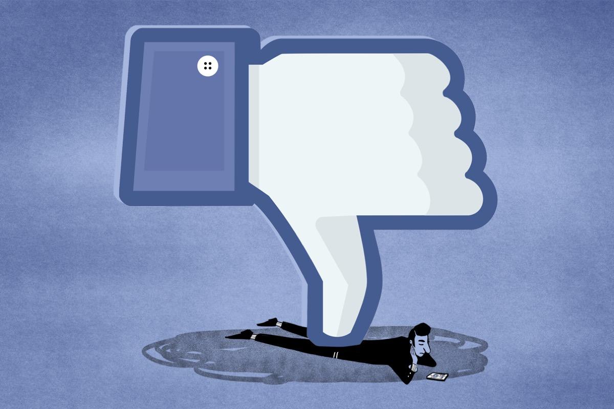 facebook diminuisce salute