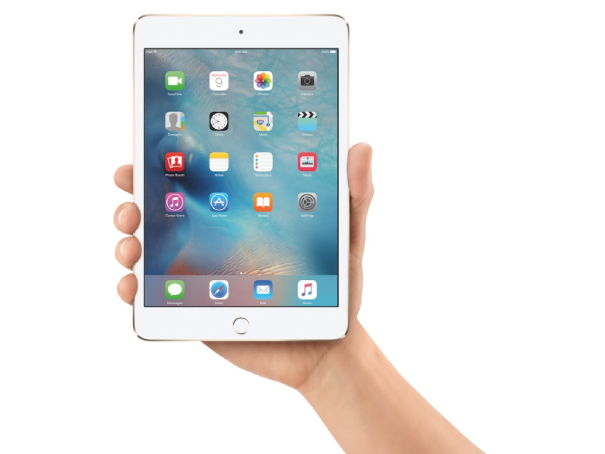 ipad mini 4 ultimo tablet apple