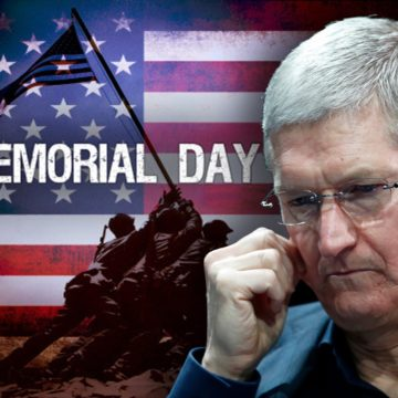 memorial day tim cook