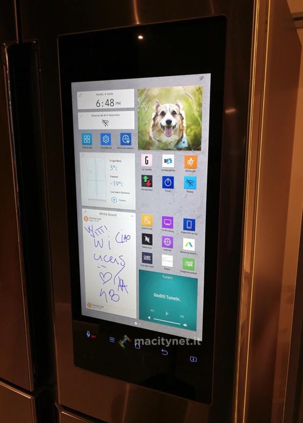 samsung family hub 2 frigo 620
