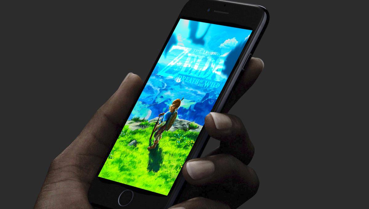 Zelda smartphone