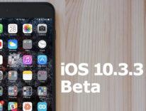 Quarta beta di iOS 10.3.3 agli sviluppatori