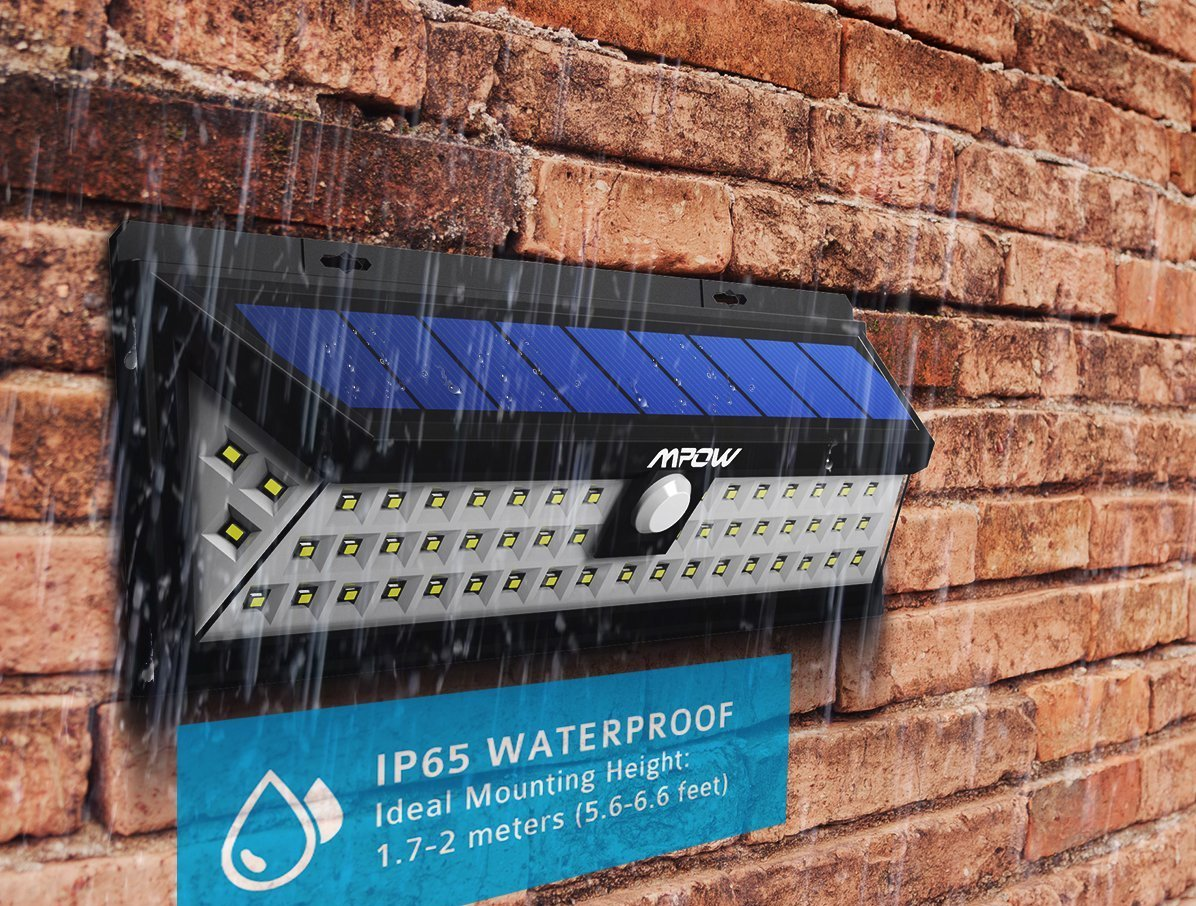 Illuminazione Per Casa Al Mare recensione luci solari mpow: 54 led e tre modalità per