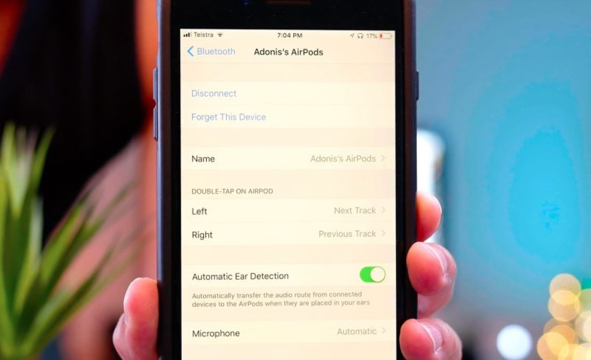 AirPods iOS 11