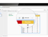 Google Fogli capisce quello che scrivi e crea grafici come richiesto, anche su iOS