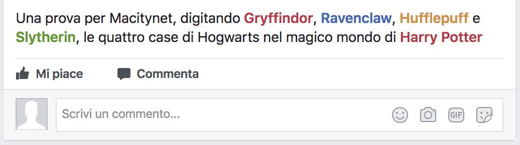 Harry Potter 20 anni Facebook