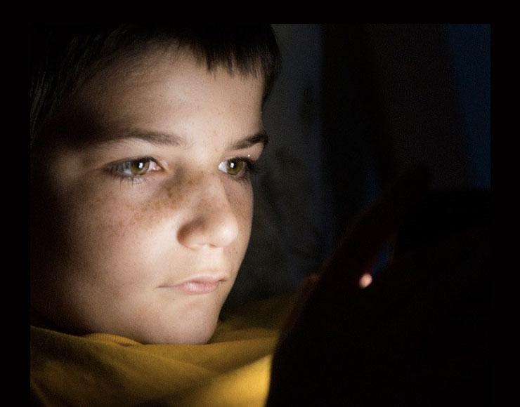 Minore al buio