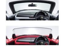 Teijin ha creato un parabrezza in resina di policarbonato senza montante per i veicoli elettrici