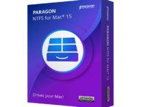 Paragon NTFS for Mac 15, nuova versione dell'utility per scrivere sui dischi NTFS