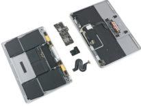 I nuovi MacBook e MacBook Pro smontati, piccole migliorie alla tastiera del MacBook 12″