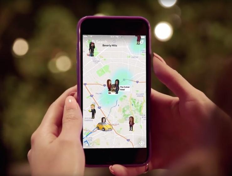 Snap Map Snapchat Map