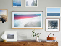 Le nuove Smart TV The Frame di Samsung diventano opere d'arte
