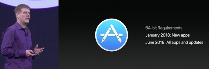 mac App Store app 64-bit