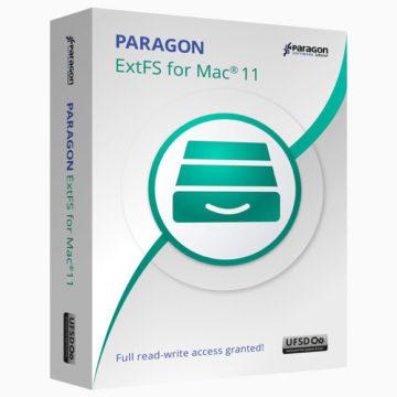 ExtFS 11 per Mac