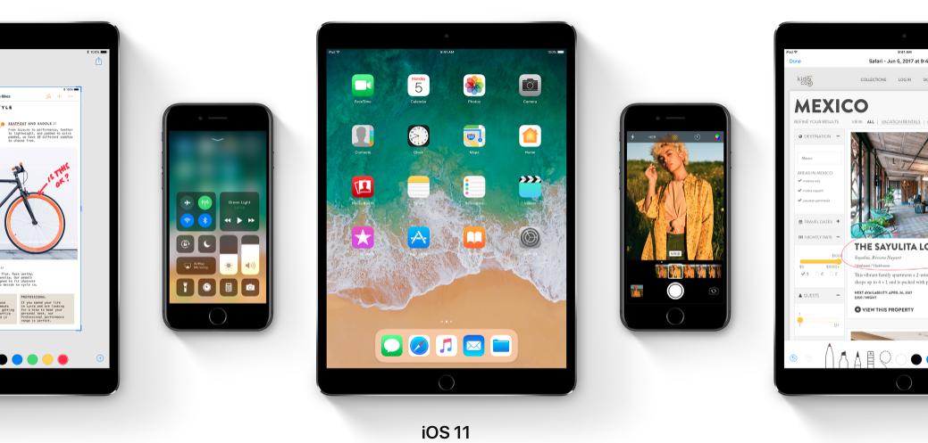 dispositivi compatibili con iOS 11