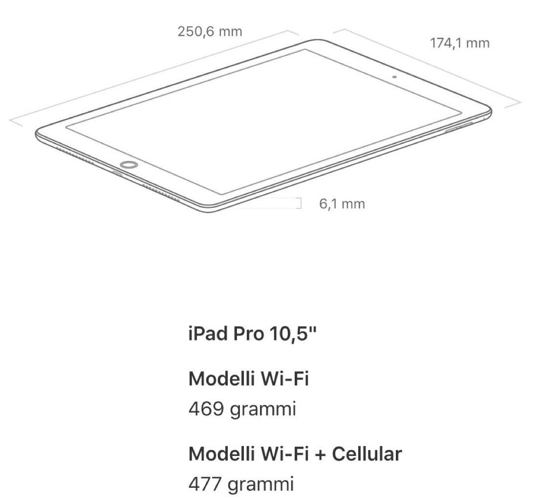 ipad pro 10.5 accessori