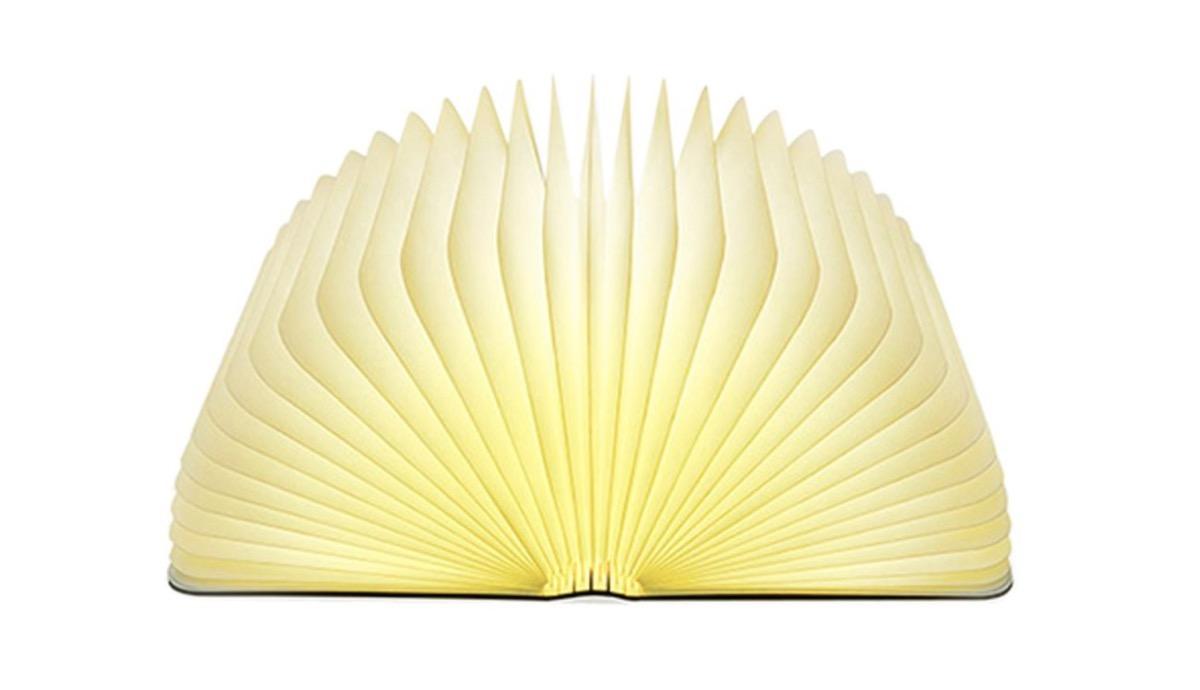 Promozione su lampada led a forma di libro: da 15 99 euro