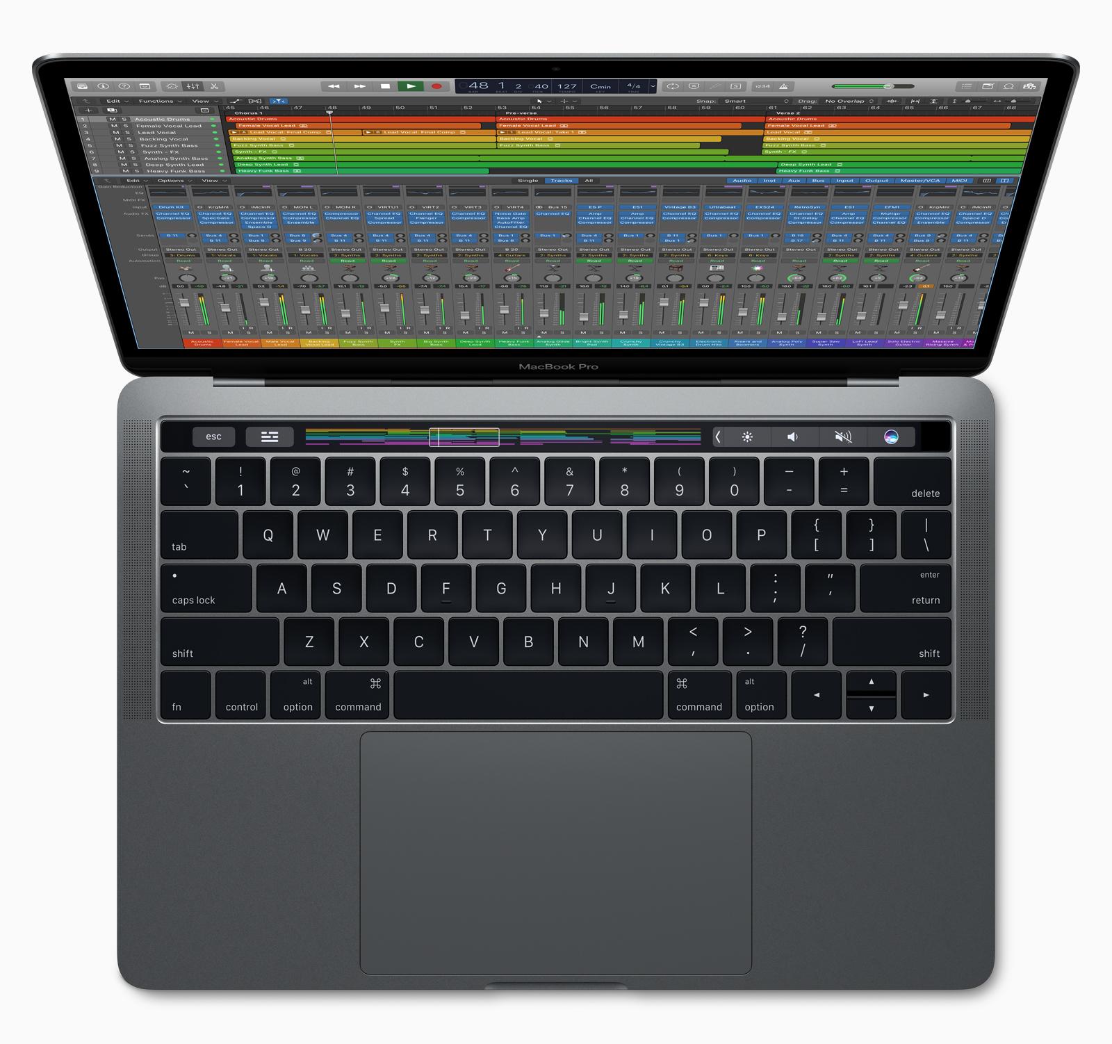 vendere macbook pro con touch bar