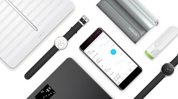 nokia assorbe withings