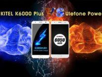 Oukitel K6000 Plus contro Ulefone Power 2, è sfida a suon di prestazioni