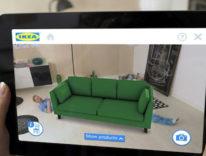 Apple e IKEA lavorano all'app per provare i mobili in realtà aumentata e comprarli con un tap