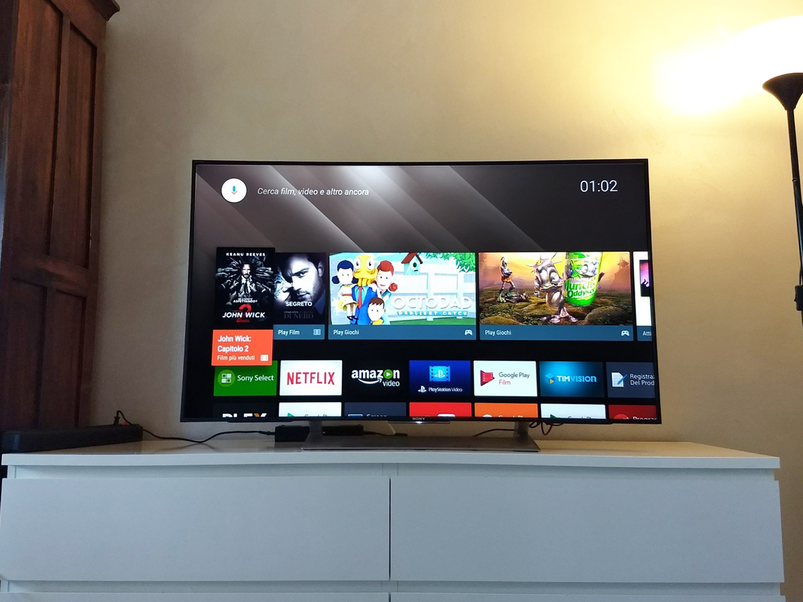 app timvision su smart tv sony