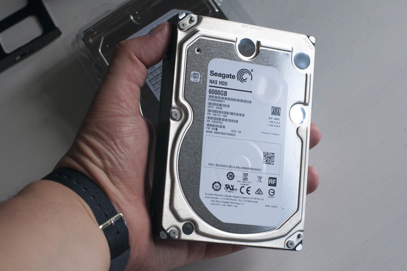 Seagate IronWolf su Asustor AS6404T