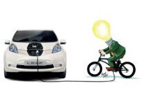 Nissan e DinamoBike: due anni di ricarica gratuita per chi produce energia pedalando