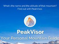 PeakVisor, l'iPhone diventa una guida personale per la montagna