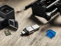 Kingston lettore di schede SD e microSD, double face: Type-C e Type-A