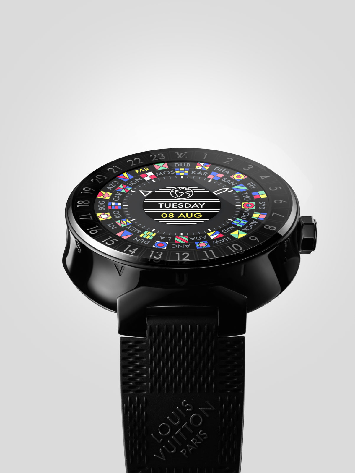 Louis Vuitton presenta uno smartwatch Android Wear da 2.450 dollari