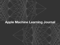 """""""Machine Learning Journal"""" blog di Apple sull'apprendimento automatico"""